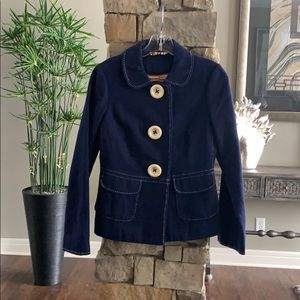 Adorable Vintage Boden Navy Blazer Size 2